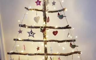 Wooden Christmas Tree | Greener Identity