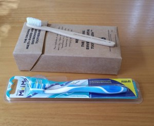 Bamboo vs conventional toothbrushes
