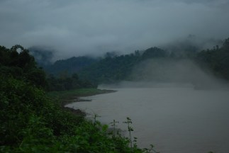 Carpeted mist over the Subansiri