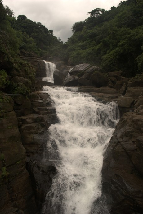 One of the waterfalls around Mawlynnong.