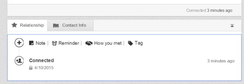 LinkedIn How You Met