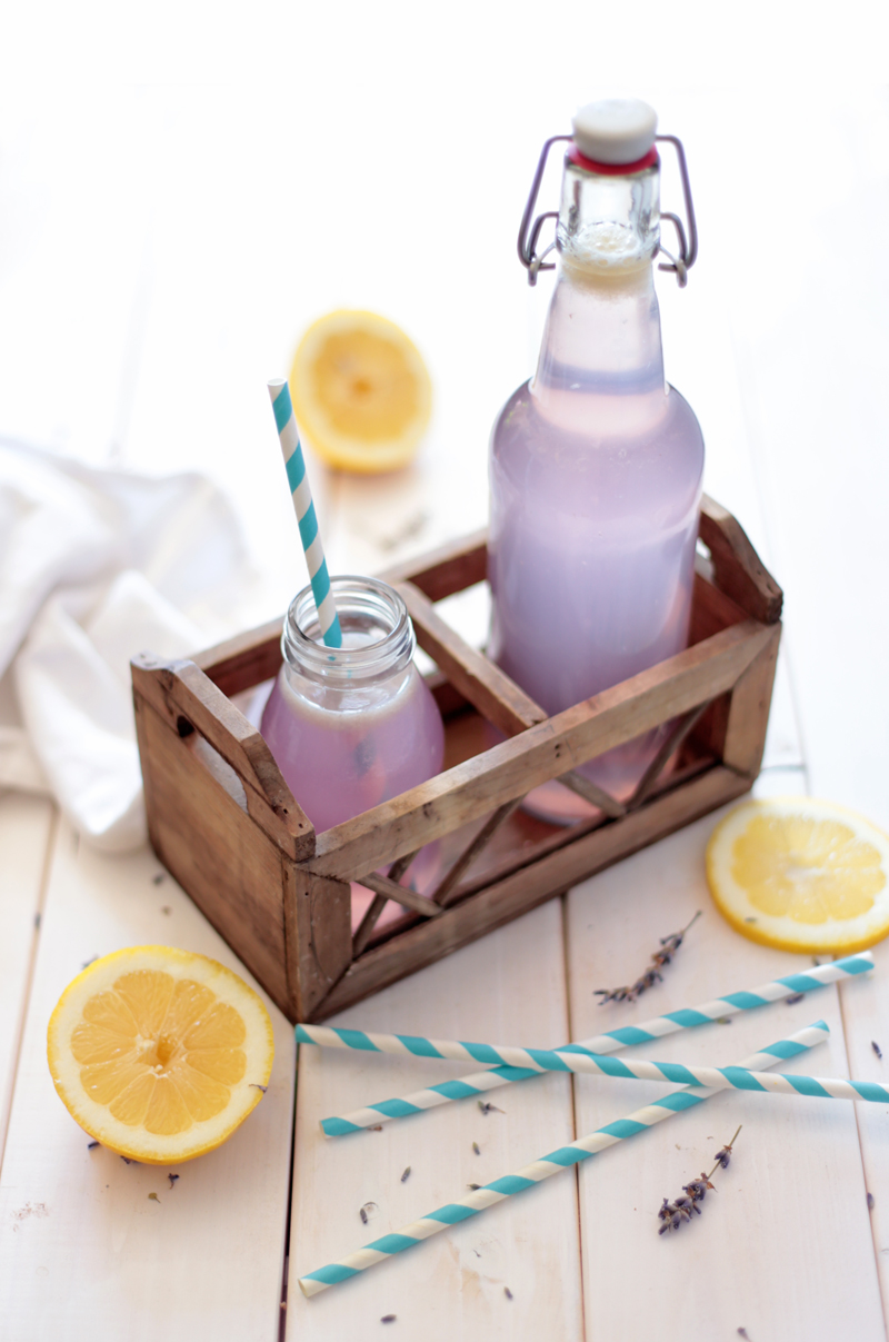 All Natural Lavender Lemonade