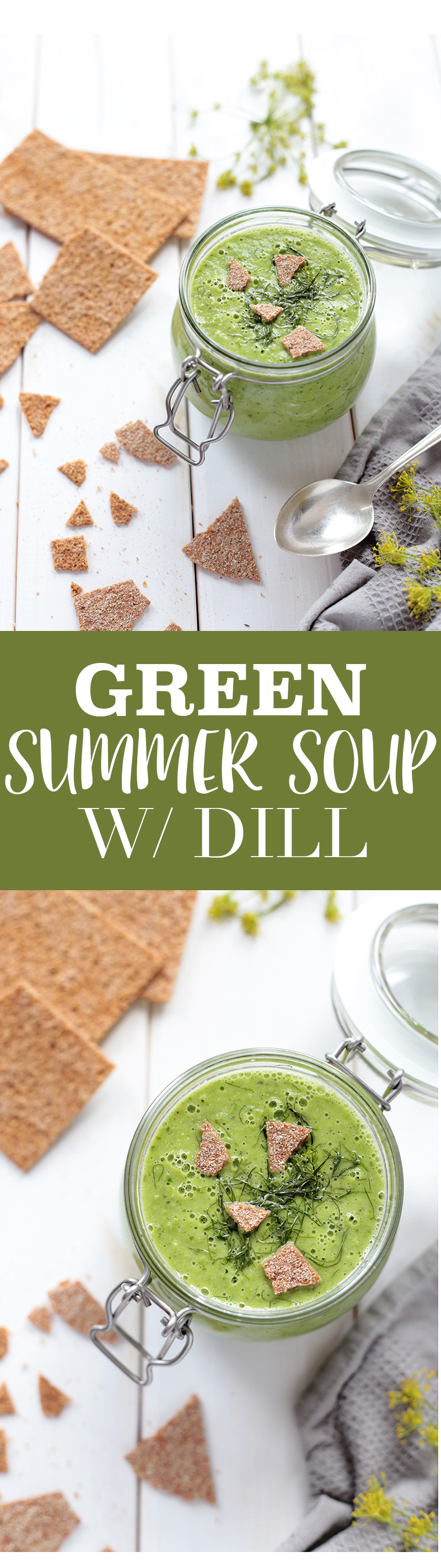 Green Summer Soup with Dill