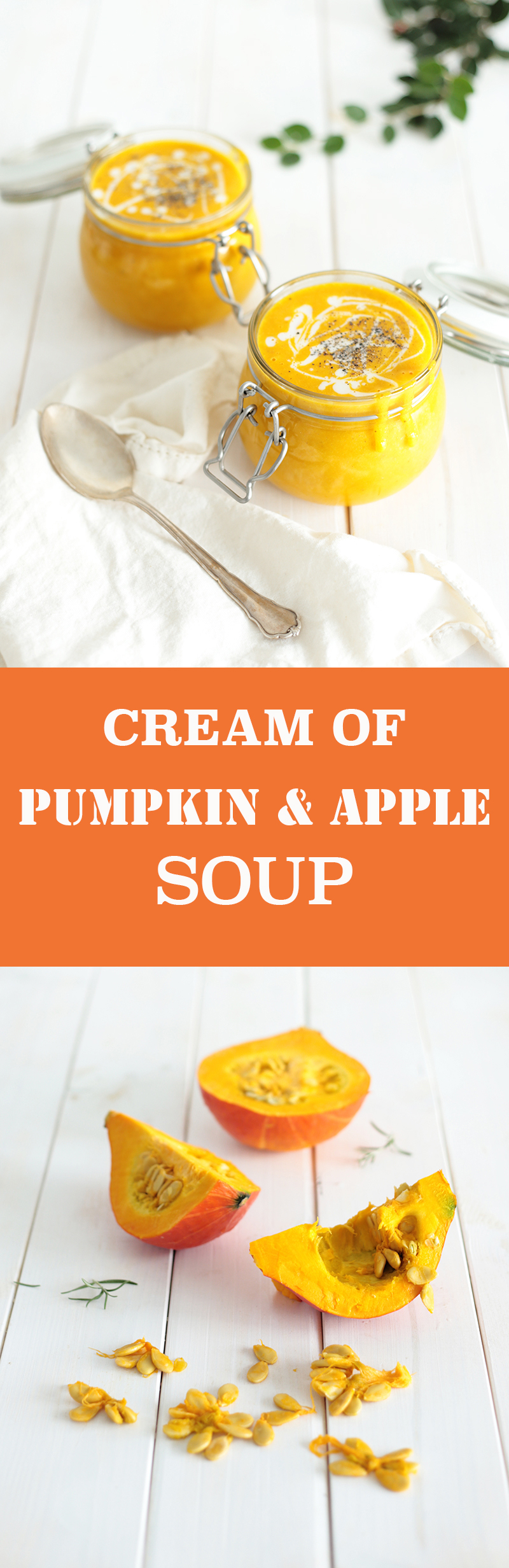Cream of Pumpkin and Apple Soup