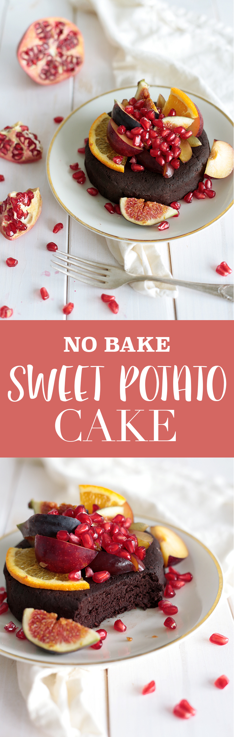 No-Bake Sweet Potato Cake