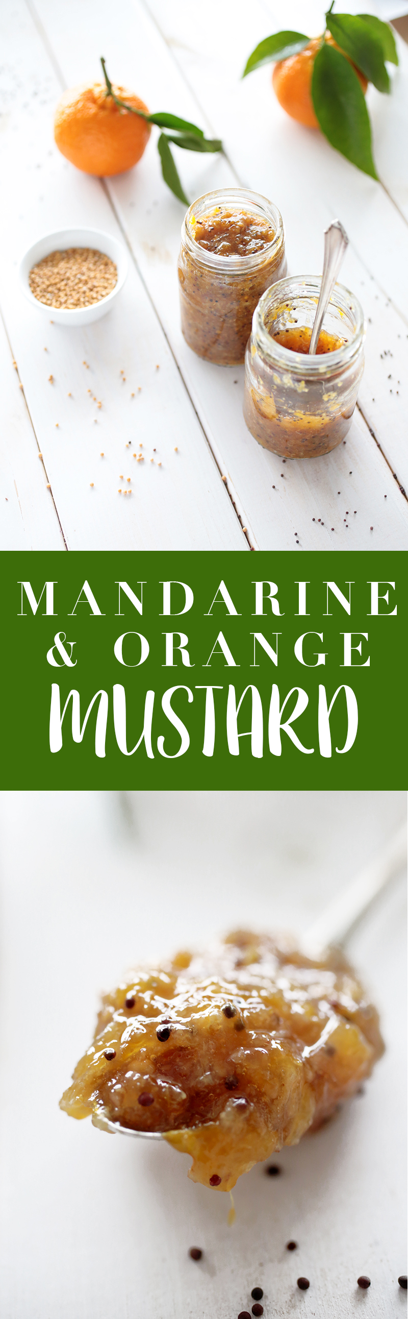 Mandarine and Orange Mustard