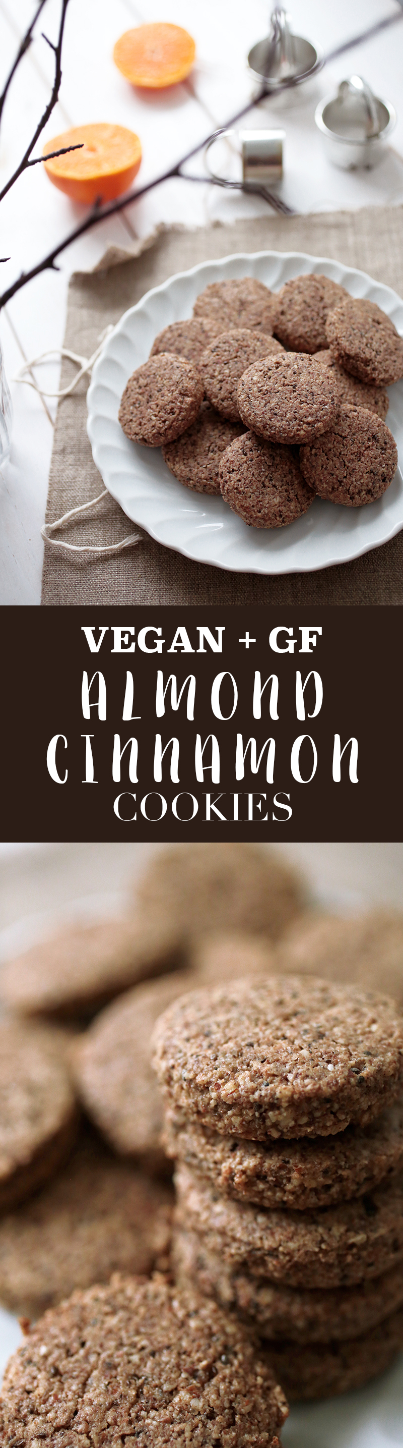 Almond and Cinnamon Cookies