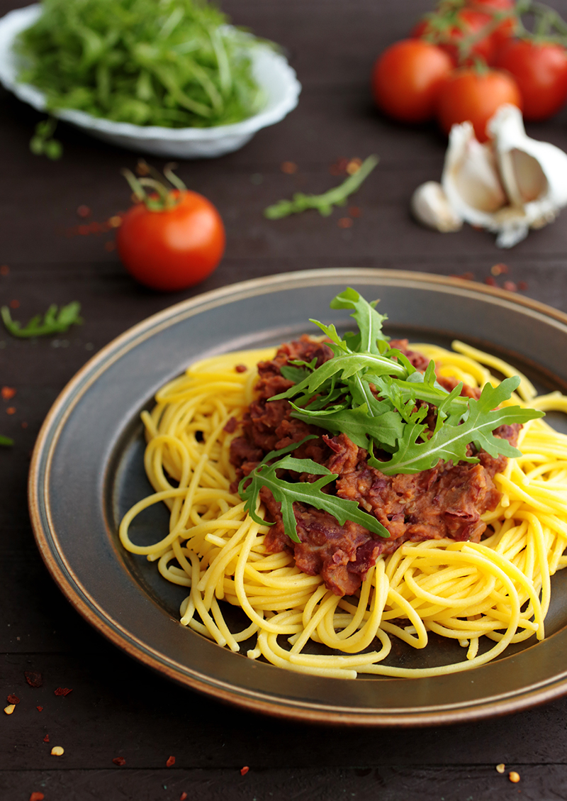 Pasta with Kidney Bean Sauce