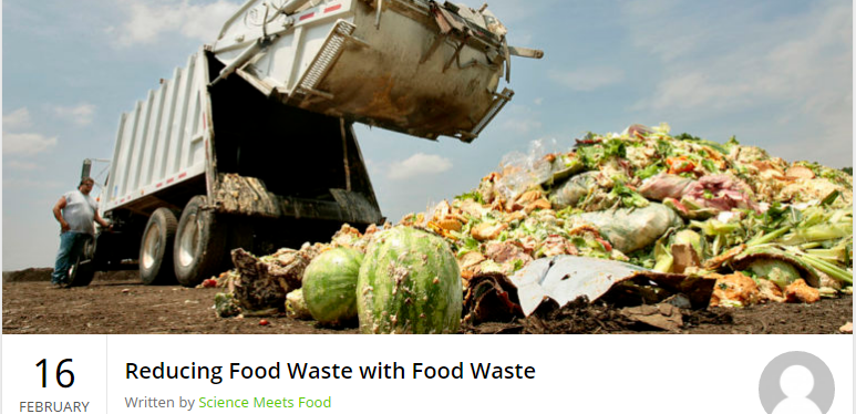 Food Waste and a Master's Thesis dream – GreenEyedGuide on ScienceMeetsFood