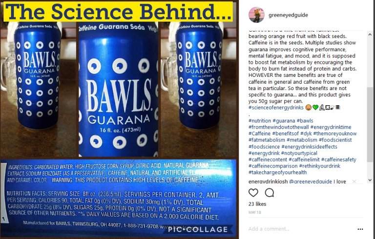 bawls guarana energy