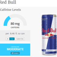 caffeine in red bull