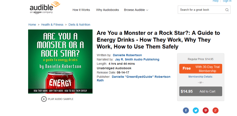 now on audible