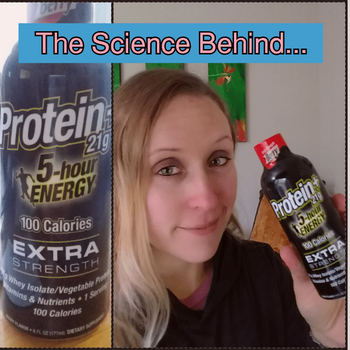 Science Behind 5-Hour Energy Protein