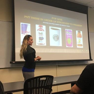 GreenEyedGuide presenting at Cal State Fullerton