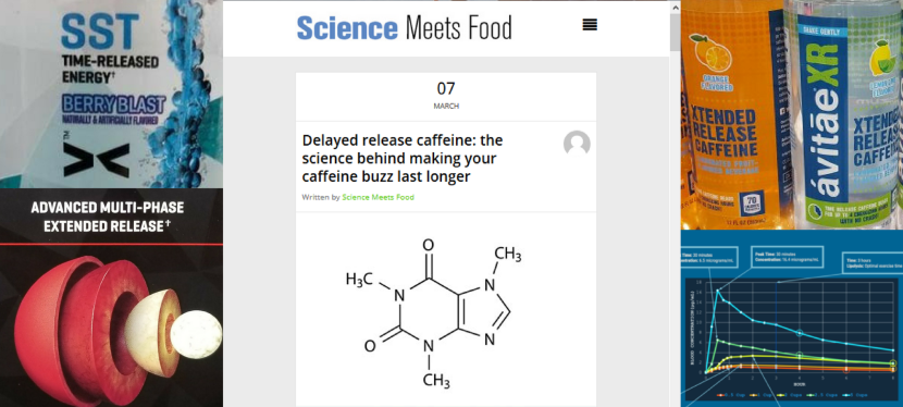 Delayed Release Caffeine – GreenEyedGuide on ScienceMeetsFood.org