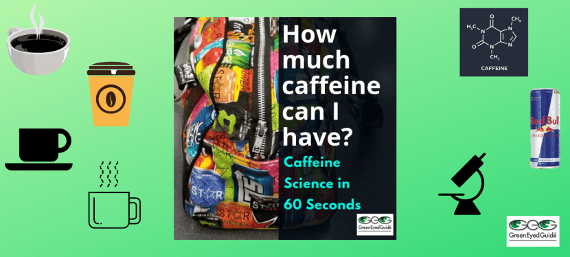How Much Caffeine Can I Have (and how do I remember that number)? Caffeine Science in 60 Seconds