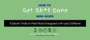 3 Tricks to more energy - GEG Research Consulting Freebie Vault