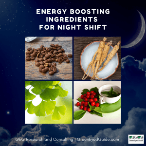 Night Shift Substance Use - Energy Boosting Ingredient