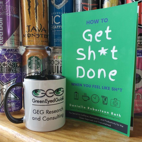 How to Get Sh*t Done book and coffee mug