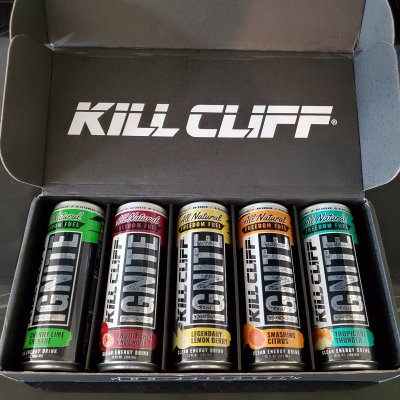 Science Behind Kill Cliff Ignite sampler pack