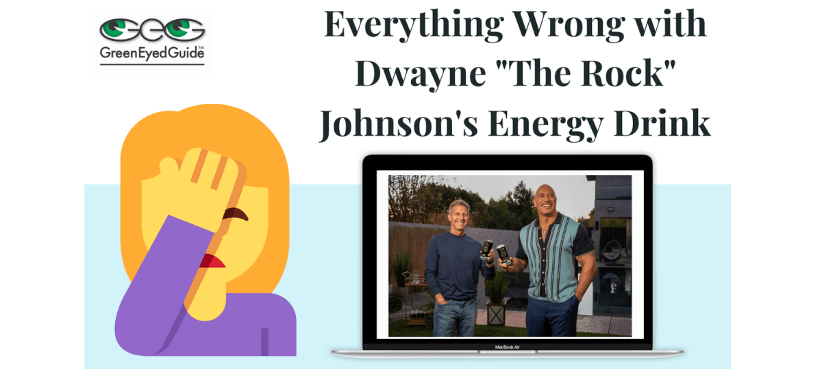 faceplam emoji with announcement of Dwayne Johnson's new energy drink