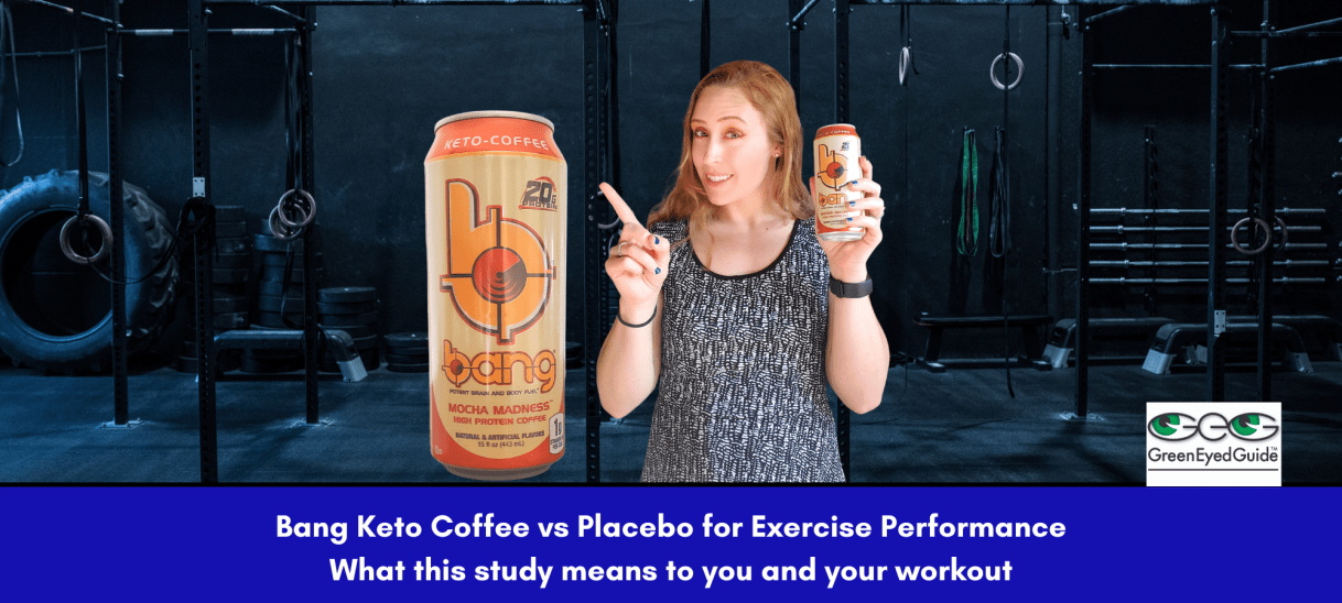 Bang Keto Coffee vs Placebo for Exercise Performance