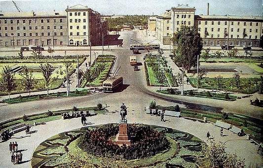 Узбекистан, Ташкент. Фотографии старого Ташкента, улица ...