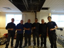 our lovely building team