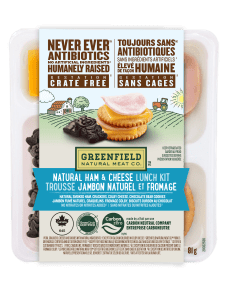Greenfield Natural Meat Co Ham & Cheese Lunch Kit / Trousse Jambon Naturel et fromage
