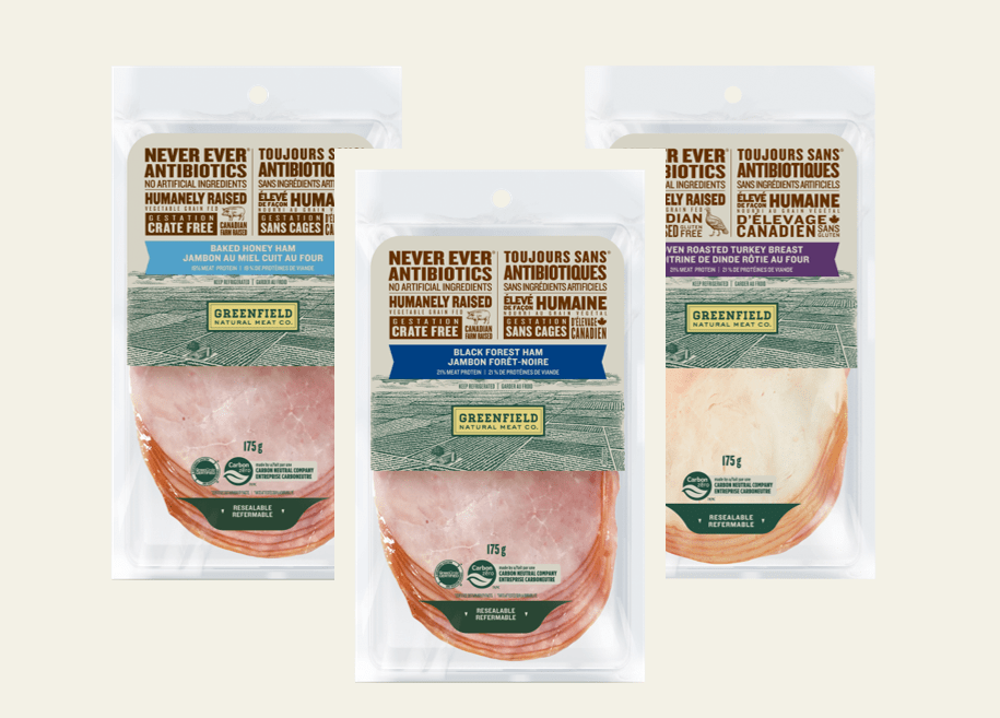 Greenfield Natural Meat Co Sliced Deli Meats
