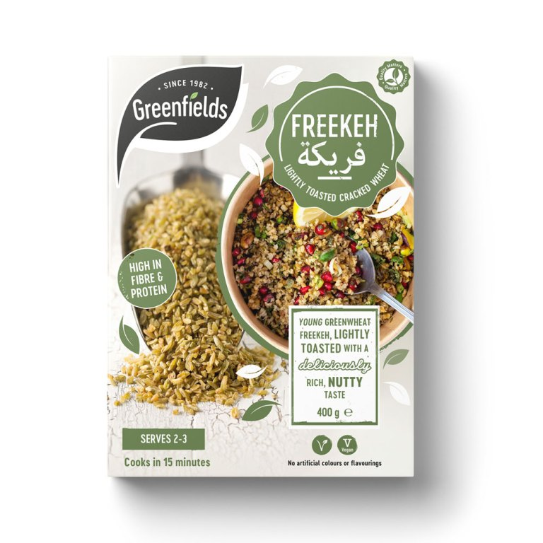 Freekeh Lightly Toasted Cracked Wheat 400g