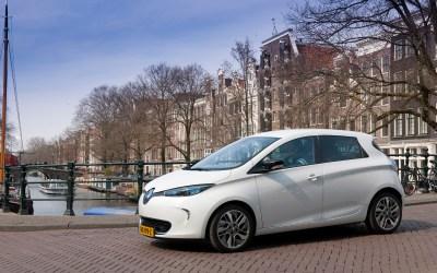 Elektrisch deelautoproject in Amsterdam begin2019van start