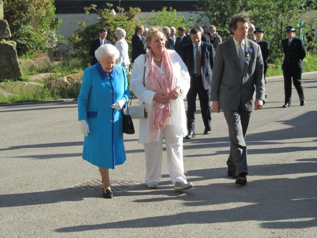 HM the Queen, Sue Biggs, Sir Nicholas Bacon