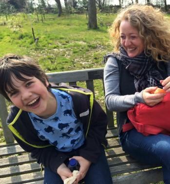 Me and Sarah at RHS Harlow Carr