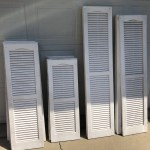 4 sizes of shutters
