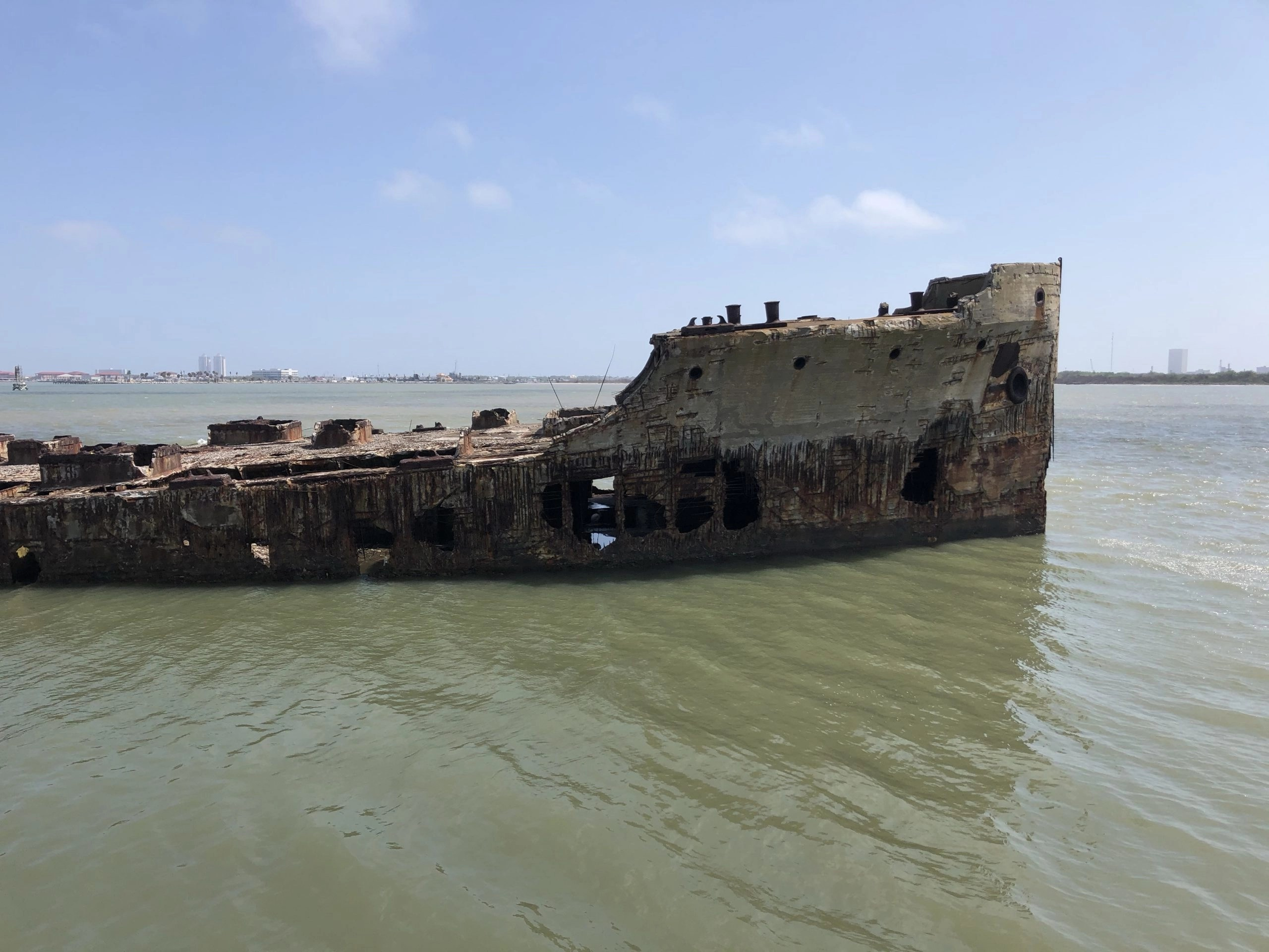 scuttled ship