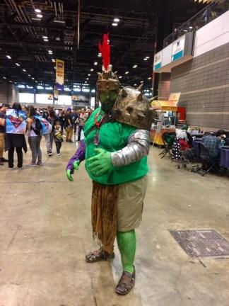 The Green Scar C2E2 2017