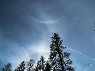Arco Circumzenitale e arco di contatto, Col Drusciè-Cortina D'Ampezzo (Bl) 22/11/14