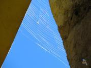 Rainbow in cobweb. Erto (Bl) 2014