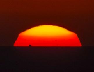 27 March 2017, Marina di Ragusa (Rg) Sicily - Sunspot