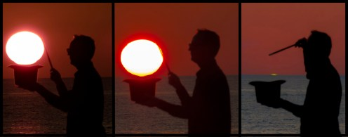 Omega Sun and Green Flash Torre di Mezzo (Rg) 16/10/2017. Magic Model: Enrico Gucciardello