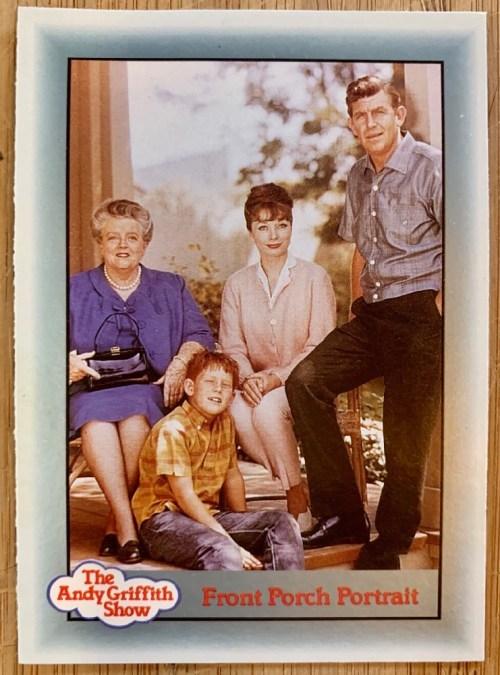 The Andy Griffith Show front porch portrait