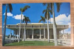 Hawaii State Capitol Building postcard