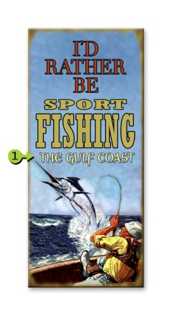I'd Rather Be Sport Fishing