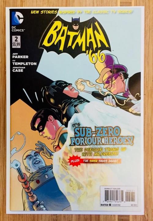 Batman classic series comic book cover