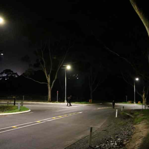 solar street lighting black spot intersection project Victor Harbour SA
