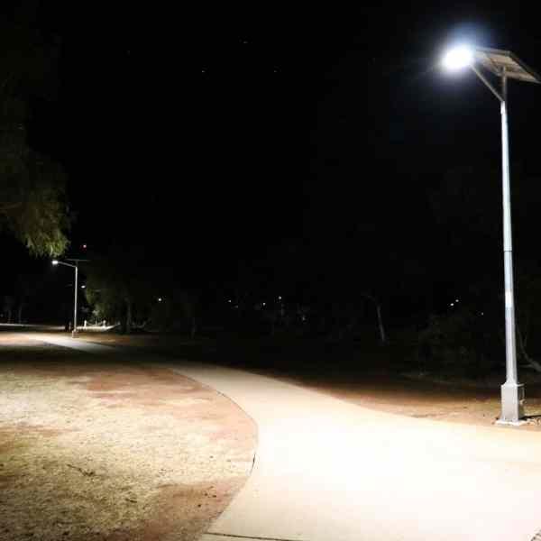 cyclone rated solar street lighting kits WA