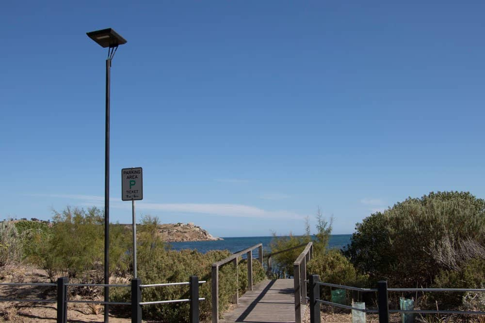 jetty solar lighting
