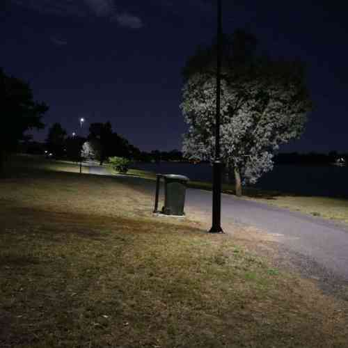 solar pathway light project lake albert