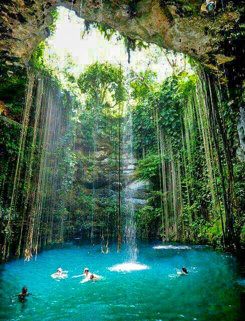 Blue Hole Mineral Spring in Westmoreland, Jamaica